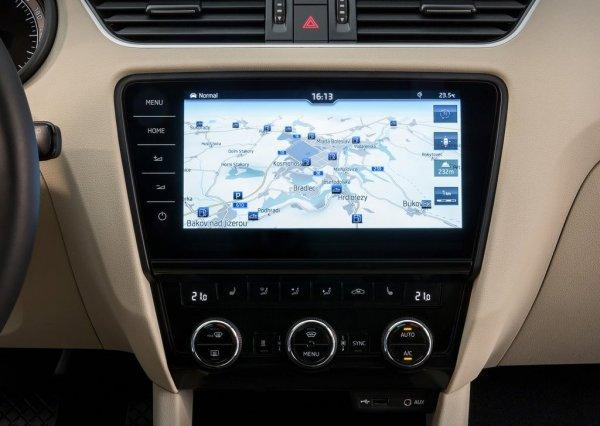 Система навигации Octavia 2017