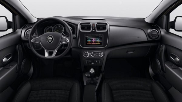 Интерьер обновленного Renault Logan