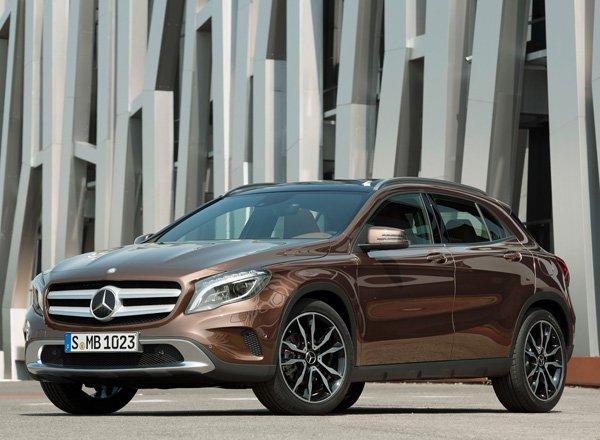 Новый кроссовер Mercedes GLA