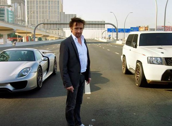 Гонки в ОАЭ - авто шоу The Grand Tour