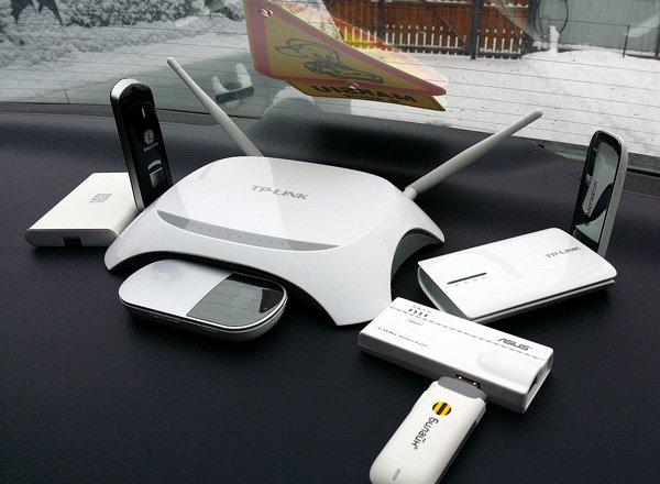 Точка доступа Wi-Fi в автомобиле