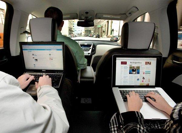 Wi-Fi интернет в автомобиле