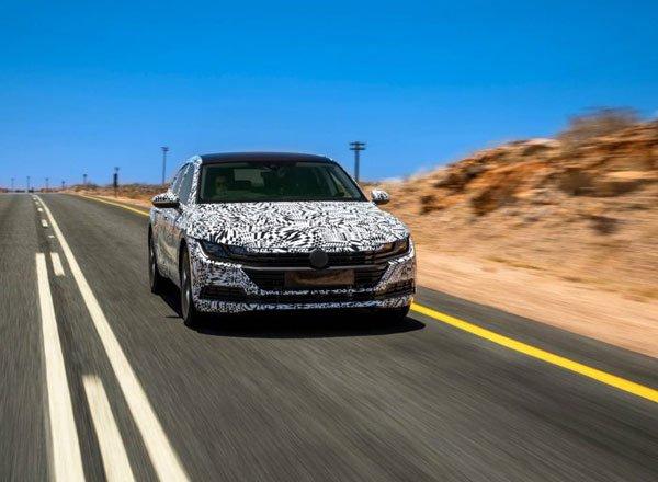 Концепт серийного Volkswagen Arteon