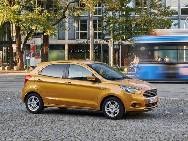Профиль нового Ford Ka Plus 2017-2018