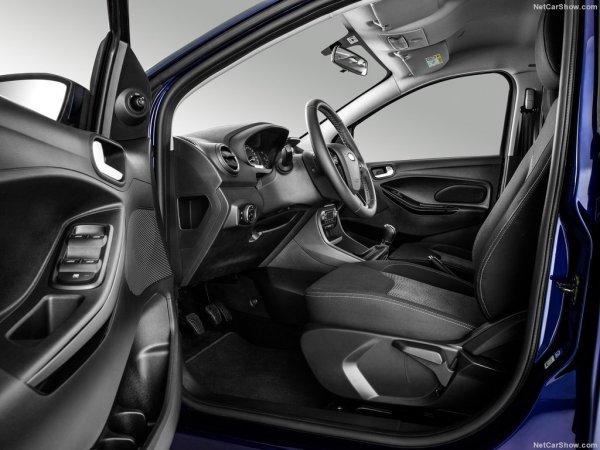 Интерьер Ford Ka Plus 2017