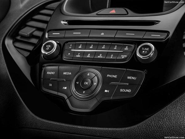 Панель управления мультимедиа в новом Ford Ka Plus