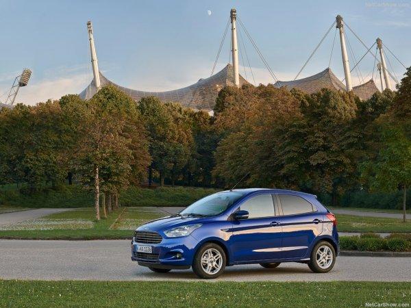 Ford Ka Plus - новый хетчбек