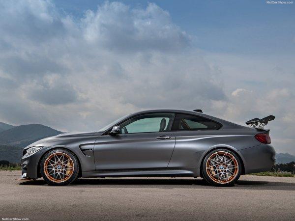 BMW M4 GTS 2016, вид сбоку слева