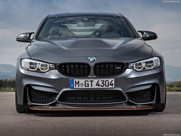 BMW M4 GTS 2016, вид спереди
