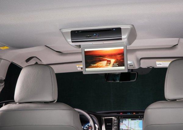 Монитор для пассажиров второго и третьего ряда