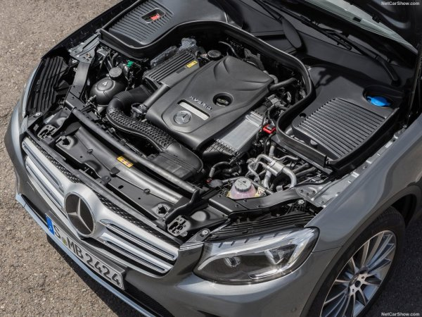 Mercedes-Benz GLC 2016, двигатель