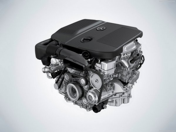 Mercedes-Benz GLC 2016, мотор