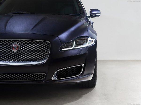 Новый Jaguar XJ 2016-2017