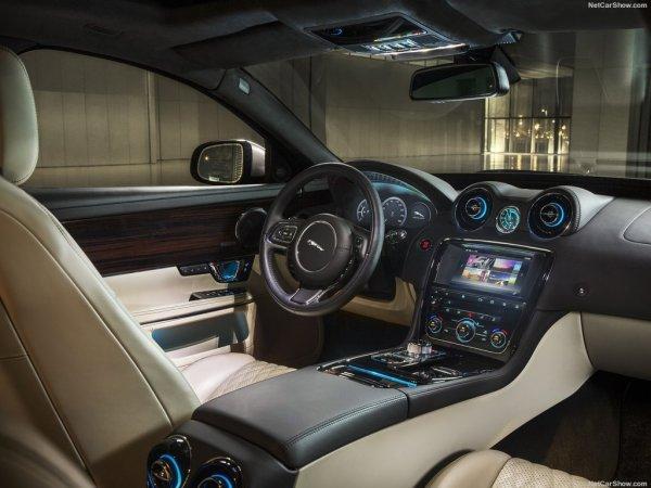 Фото салона Jaguar XJ 2017