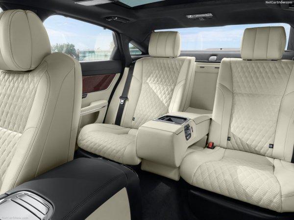 Задний ряд сидений Jaguar XJ 2016-2017