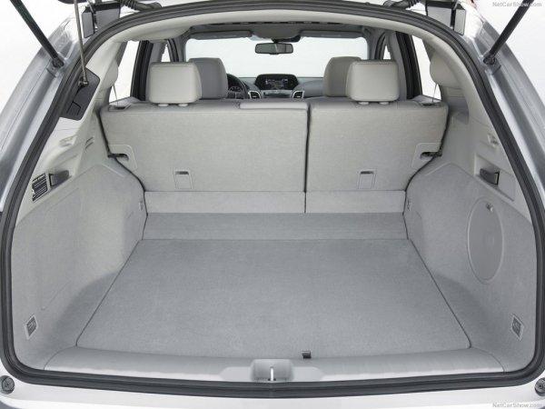 Acura RDX 2017, багажник