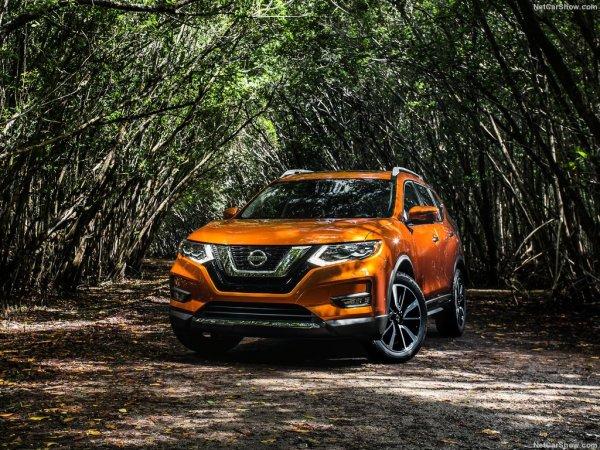 Новый Nissan Rogue 2016-2017