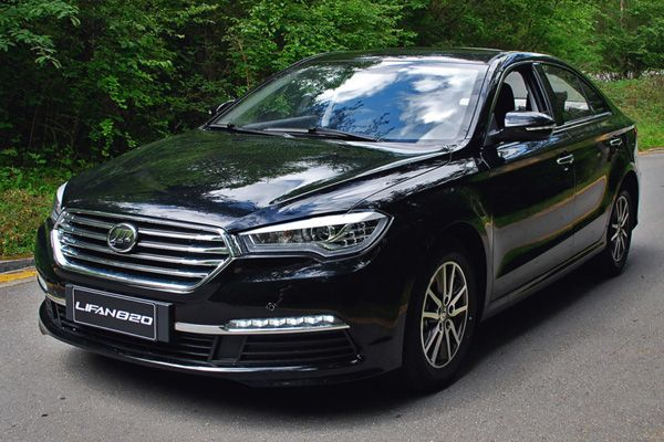 Новый седан Lifan 820
