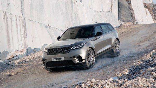 Land Rover Range Rover Velar, вид сбоку
