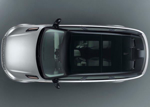 Панорамная крыша Range Rover Velar