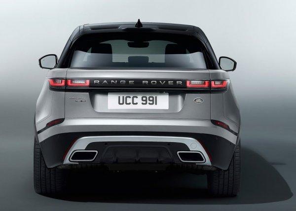 Range Rover Velar, вид сзади