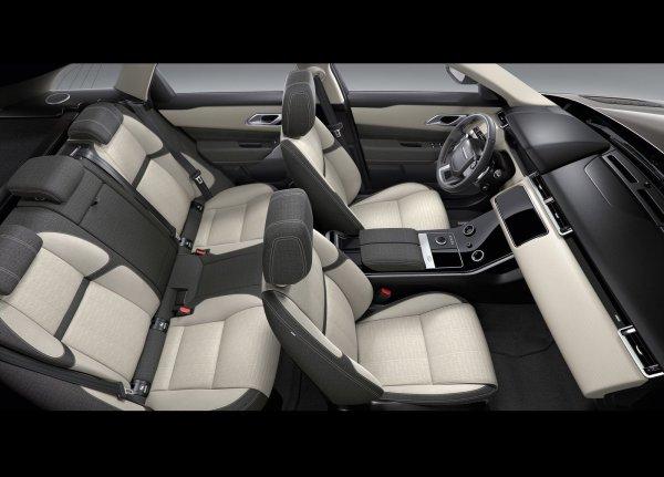 Интерьер Range Rover Velar 2018