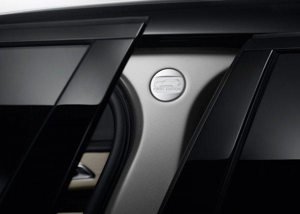 Маркировка комплектации Range Rover Velar First Edition
