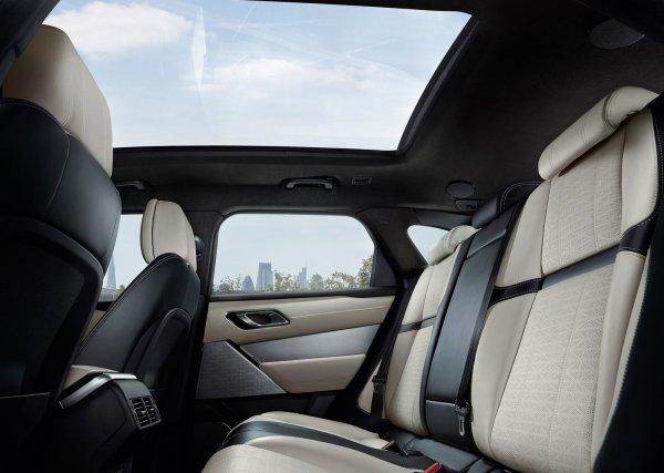 Задние сиденья Range Rover Velar