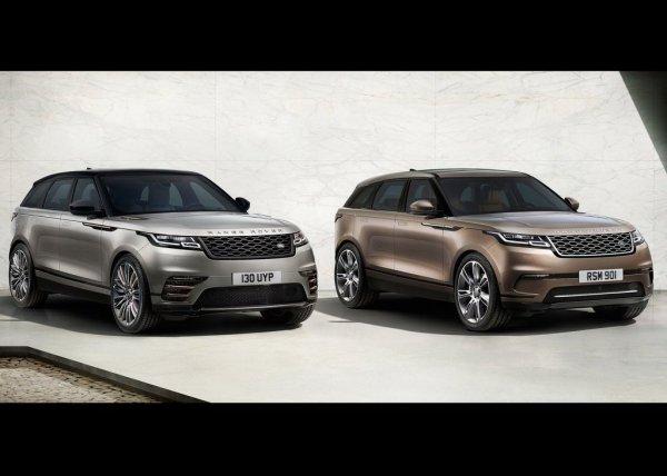 Новый Land Rover Range Rover Velar