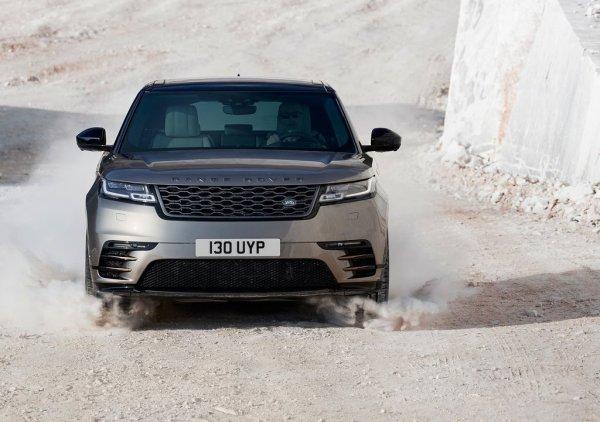 Land Rover Range Rover Velar 2018, вид спереди