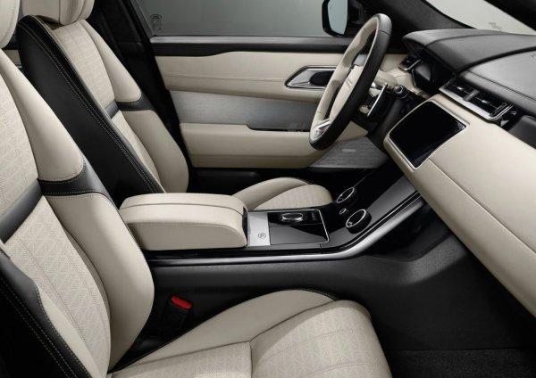 Интерьер нового Range Rover Valer