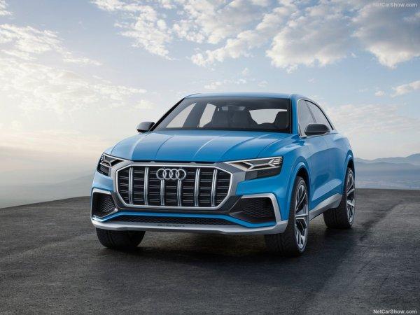 Audi Q8 2017 - новый кроссовер Ауди