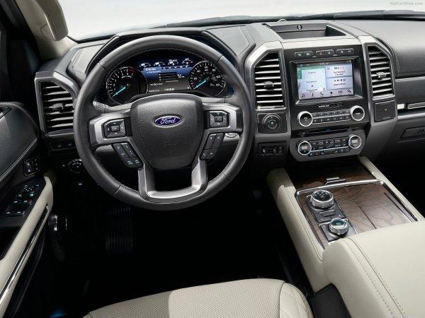 Водительское кресло Ford Expedition 2017