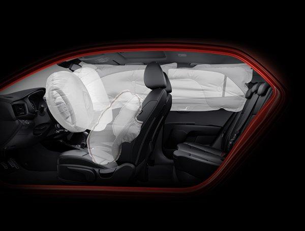 Подушки безопасности Kia Rio 2017