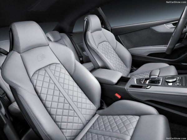 Audi S5 Coupe 2017, передние сидения