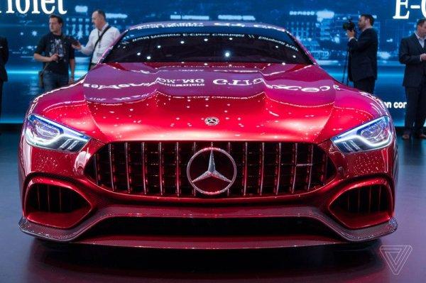 Оптика Mercedes AMG GT Concept