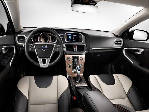 Фото салона Volvo V40 Cross Country 2017