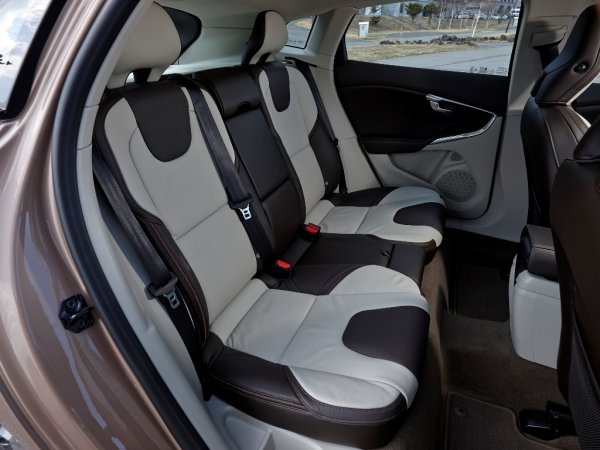 Задние сидения В40 Кросс Кантри 2017