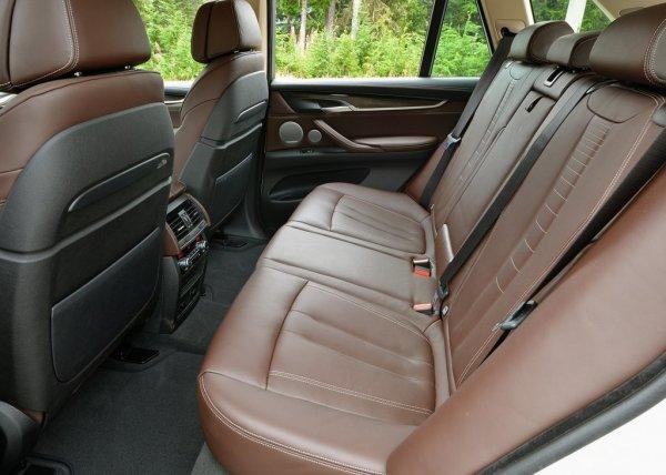 Задний ряд сидений BMW X5 F15