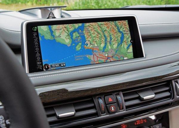 Система навигации BMW X5 F15