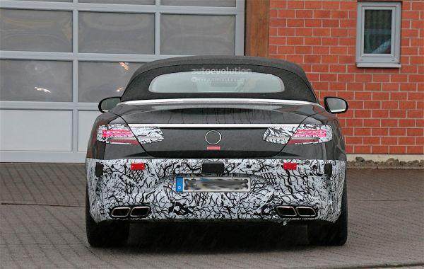 Выхлопная система Mercedes AMG S63 Cabriolet