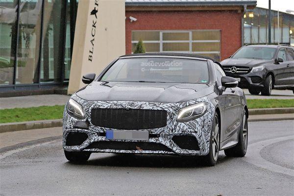 Передняя оптика Mercedes AMG S63 Cabriolet