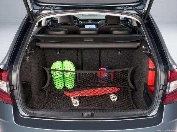 Skoda Octavia Combi 2017, багажник