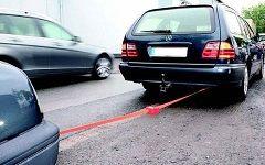 Как правильно и безопасно буксировать автомобиль