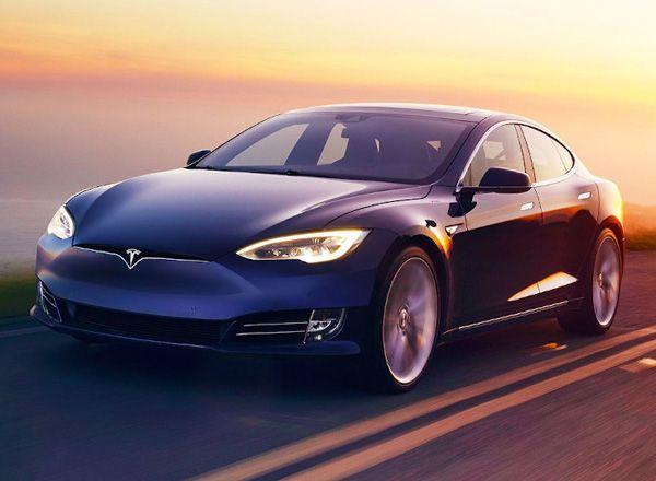 Доработанная Tesla Model S 100D