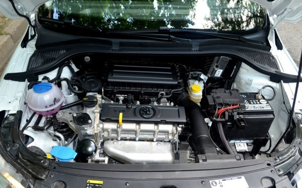 skoda rapid двигатель