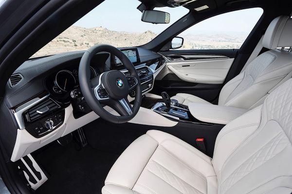 5 Series G30, передние сидения