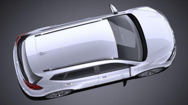Nissan X-Trail 2017 года, вид сверху