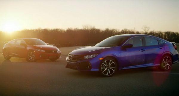 2017 Honda Civic Si Coupe and Civic Si Sedan