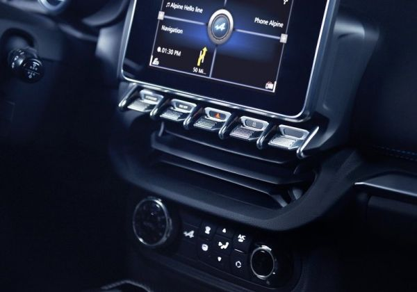 Мультимедийная система Renault Alpine A110 2018